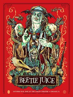 Beetlejuice by Justin Kamerer
