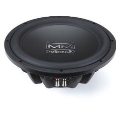 Polk Audio AA3124-A MM1240 12-Inch Subwoofer by Polk Audio. $144.98. Introducing the new Mobile Monitor (MM) Series high performance loudspeaker systems, the next generation in mobile loudspeaker design. The MM Series features 18 new models, including 3 Ultra Marine designs, to fit virtually any application on land and water. The MM Series is composed of 6 full range systems, 3 component packages and 9 subwoofers. As a result of 3 years of Polk research and development, the...