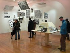 Reconstruction of the 1953 exhibition 'Parallel of Life and Art' by members of the Independent Group at the ICA and Pierre Leguillon's 'Placement'
