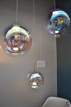 Lighting fixtures by Neocraft Iris Sebastian Scherer spotted by C-More interiorblog at IMM Cologne 2015 C-More |design + interieur + trends + prognose + concept + advies + ontwerp + cursus + workshops