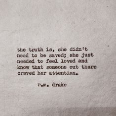 She needed it #rmDrk