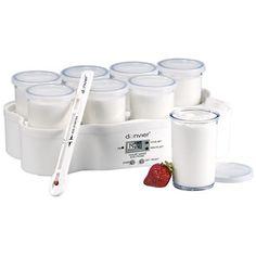 Donvier® Electronic Yogurt Maker:  I've been eating enough greek yogurt lately I should add this to my wishlist.