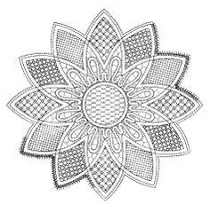 Schema - Pattern pillow lace preso da facebook