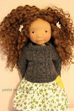 Sweet doll!  Love the hair
