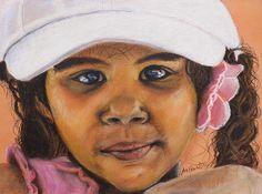 Fabulous painting by Jeanne Fischer #painting  #portrait