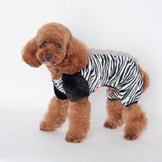 Gaorui Pet Dog Cat Puppy Winter Fleece Hoodie Warm Clothes Coat Costume Jumpsuit Jacket