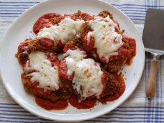 Chicken Parmesan Recipe : Ellie Krieger : Food Network - FoodNetwork.com