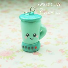 Blender Miniature Jewelry Handmade by Sweet Clay Creations