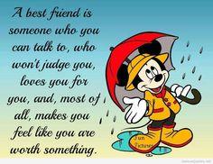 A best friend quote cartoon