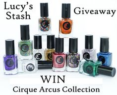 Giveaway: Win the Cirque Arcus Collection! lucysstash.com