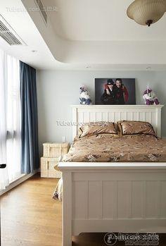 Garden simple European design bedroom decorating pictures 2015