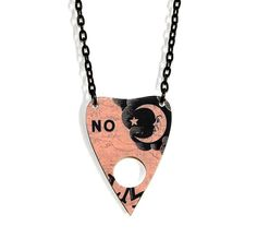 Ouija Board Necklace NO Planchette Medium by XOSkeletonCreations, $16.99