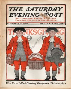 Thanksgiving by J. J. Gould & Guernsey Moore, Nov. 22, 1902, The Saturday Evening Post.