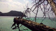 Indonesia.. Kelagian island at Lampung..  Beautiful of Indonesia