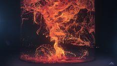particle lava Motion Capture, Motion Design, Art Direction, Surrealism, Behance, Mario, Texture, Abstract, Artwork