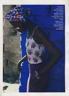Io Donna Magazine featured the #AmericanApparel Jacquard Mid-Length Pencil Skirt, Italy June 2014.
