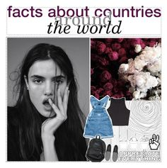 """2. TIP SERIES: FACTS ABOUT COUNTRIES AROUND THE WORLD"" by eavesdroppiing ❤ liked on Polyvore featuring art"
