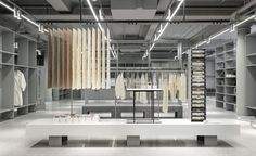 London shopping: H&M Group unveils new vision for retail with opening of Arket brand on Regent Street Retail Store Design, Retail Shop, Regent Street, Wallpaper Stores, Merchandising Displays, Retail Displays, Shop Displays, Window Displays, Retail Interior