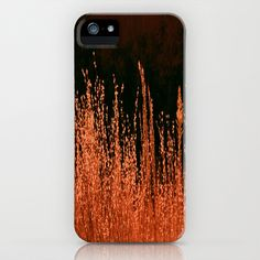 Golden Grasses iPhone Case by Veronica Ventress - $35.00