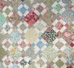 Barbara Brackman's MATERIAL CULTURE: Betty's William Morris Quilt