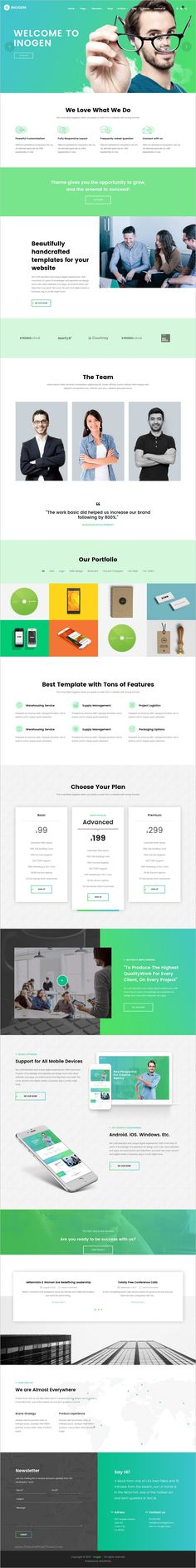 Inogen is a awesome multipurpose #WordPress theme for #webdev Creative #Agency, Business, Corporation, Architecture, Portfolio or simple only a website with One page with 20+ unique homepage layouts download now➩ https://themeforest.net/item/inogen-multipurpose-creative-wordpress-theme/18501701?ref=Datasata