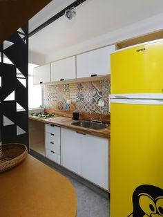 Criatividade e estilo. Veja: http://www.casadevalentina.com.br/projetos/detalhes/estilo-e-criatividade-671 #decor #decoracao #color #cor #detail #detalhe #design #ideia #idea #creative #criativo #style #estilo #casadevalentina #kitchen #cozinha