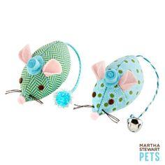 Martha Stewart Pets® Patterned Plush Mouse Cat Toy | Toys | PetSmart