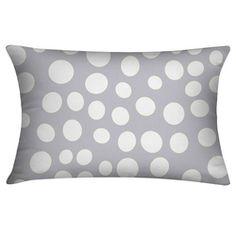 Almofada Dots Branca - 30x45cm