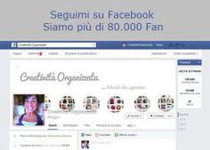 Pagina Facebook Creatività Organizzata