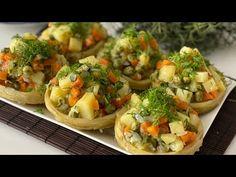 Turkish Recipes, Ethnic Recipes, Bruschetta, Baked Potato, Potatoes, Cookies, Baking, Youtube, Food