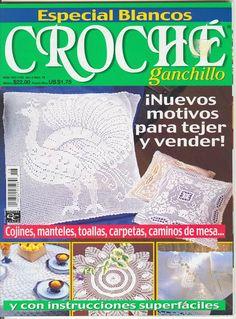 Croché Ganchillo Año 3 Num 18 Especial Blancos - VANESA - Picasa Web Albums