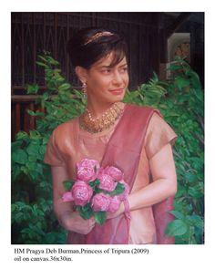 Portrait of  Tripura Princesss