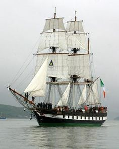 Dunbrody Heritage ship in New Ross, Ireland - a very good tour