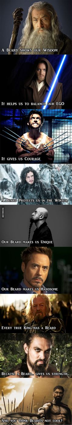 So you think Beard's not cool...?