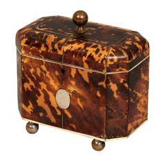1stdibs - English Tortoiseshell Tea Caddy explore items from 1,700  global dealers at 1stdibs.com