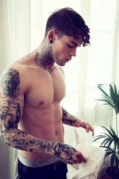 #hot #guy #tattoo