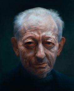 Michael Simpson by Paul Emsley (British: 1947) - BP Portrait WINNER 2007