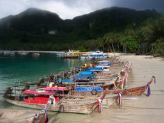 Phi Phi Island in Thailand great beach and place to chillax #thailand