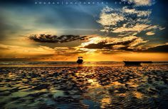 """Sunrise at Pasir Padi Beach - Bangka, Indonesia"""