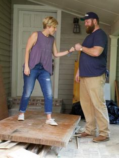 Meet Ben and Erin Napier — a couple of good southerners who are passionate about restoring classic old homes,and devoted to their tiny Mississippi hometown. In this, their first project featured in the new HGTV seriesHome Town, Erin and Ben help another young couple with small-town dreams fashion a forever home with authentic southern charm.