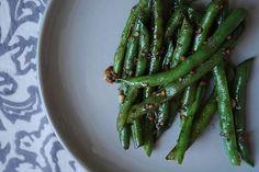 Asian Garlic Green Beans, a recipe on Food52