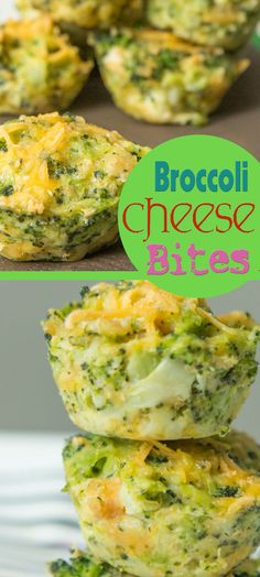 Broccoli Cheese Bites - Sub gluten free crackers in place of RITZ.