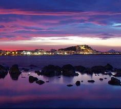 Atardecer en Denia (Alicante)