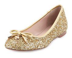 """sapatos"" by gislainefreitas ❤ liked on Polyvore featuring shoes, flats, sapatos, sapatilhas, zapatos, gold, gold flats, gold shoes, gold flat shoes and bow flats"