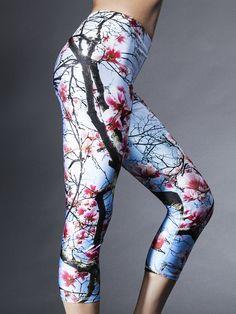 6d83b30c17c Cherry Blossom Capri Legging in Cherry Blossom. Excersise ClothesYoga CaprisYoga  PantsGirls In LeggingsYoga WearRunning TightsWorkout ...