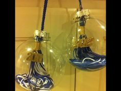 something to do with the tassel - would be cute if you were from the same schools but different years