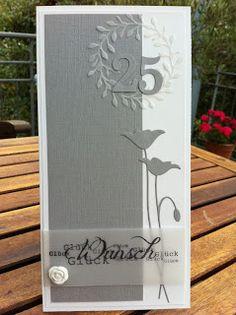 Tolle Glückwunschkarte mit Memory Box  & Renke Stempeln