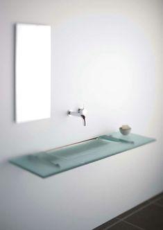 Badezimmerspiegel Rechteckig.Bathroom Vanity Perfect For A Small Powder Room Bathroom Ideas