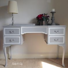 Image result for grey painted dressing table