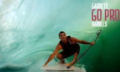 almasurf.com Filmado com GoPro, vídeo traz tubaços do waterman Garrett McNamara